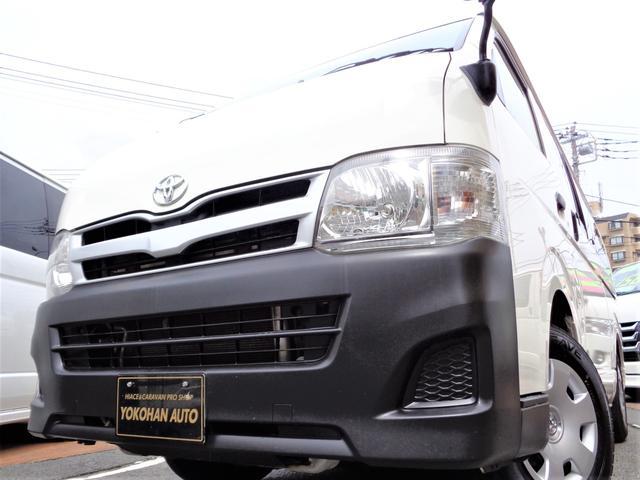 トヨタ レジアスエースバン ロングDX 3型後期3.0DT4WD9人乗りナビTVバックカメラWエアコンWエアバック新規リアフィルム施工