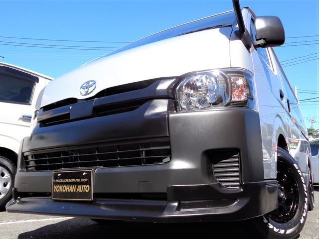 トヨタ DX 5型TSSレンタUP法人1オーナー禁煙ナビBカメラ電動ドアエアロBKインナーLEDライト新品15AW&ナスカー右スライド窓2新規リアフィルム