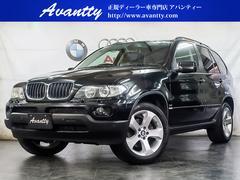 BMW X53.0i オプション19AW 本革 社外HDDナビ キセノン