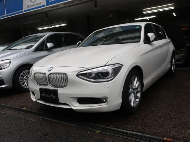 BMW 116i スタイル PサポートPKG 半革 HDDナビ TV