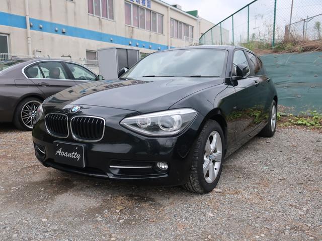 BMW 116i スポーツ 純正HDDナビ バックカメラ キセノン ETC