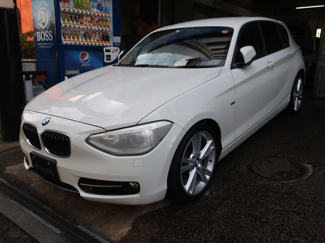 BMW 120i スポーツ オプション18AW HDDナビ キセノン ETC