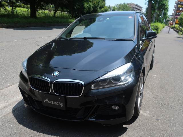 BMW 218dアクティブツアラー Mスポーツ 1オナ PサポートPKG Dアシスト ナビ DTV