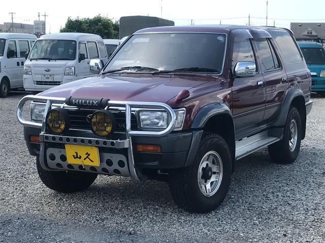 トヨタ SSR-G ワイド