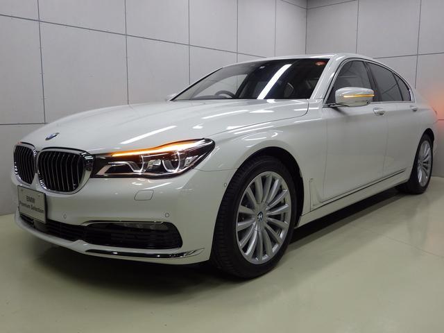 BMW 740i レザーシート サンルーフ 正規認定中古車