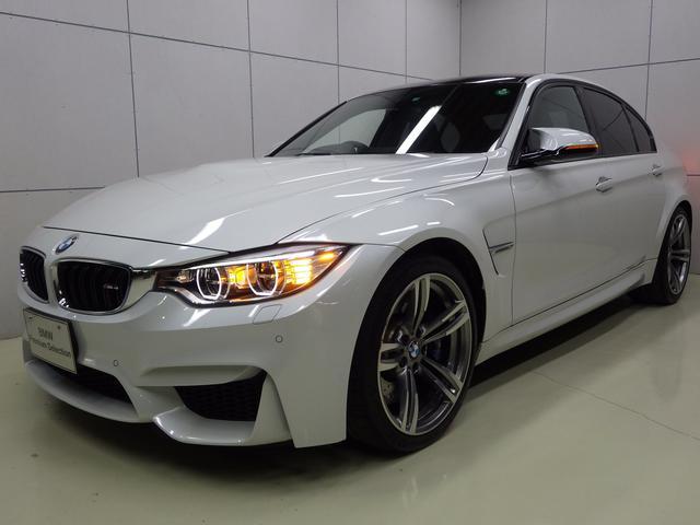BMW M3 19インチAW ブラックレザー 正規認定中古車