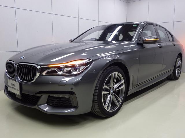 BMW 740i Mスポーツ 黒レザー ガラスサンルーフ 認定中古車