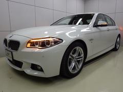 BMW523d Mスポーツ 社外赤レザー 正規認定中古車