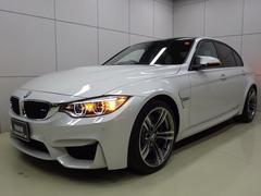 BMWM3 ブラックレザー 正規認定中古車