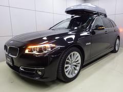 BMW523dツーリング ラグジュアリー ブラックレザーシート