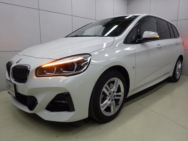 BMW 218d xDriveグランツアラー Mスポーツ 認定中古車