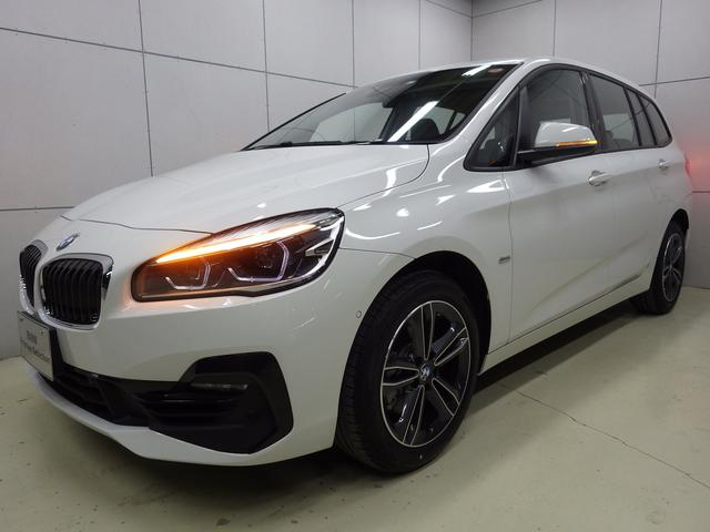 BMW 218iグランツアラー スポーツ コンフォートP 認定中古車