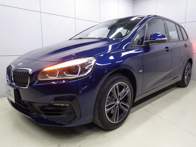 BMW 218iグランツアラー スポーツ セイフティP 認定中古車