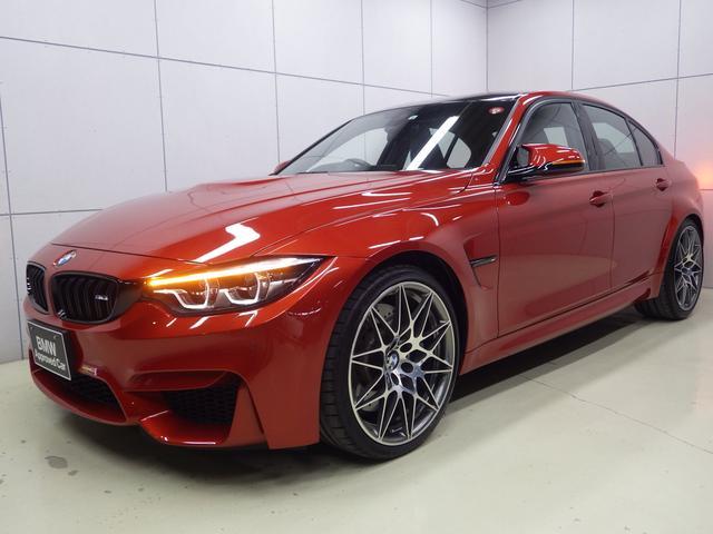 BMW M3セダン コンペティション 正規認定中古車
