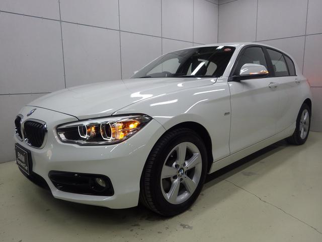 BMW 118i スポーツ パーキングサポートP 正規認定中古車