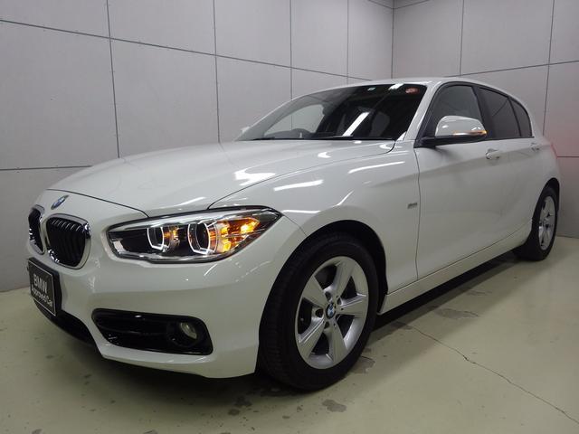 BMW 1シリーズ 118d スポーツ コンフォートパッケージ  パーキングサポートパッケージ 正規認定中古車