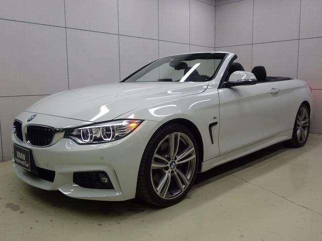 BMW 4シリーズ 435iカブリオレ Mスポーツ 左ハンドル 正規認定中古車