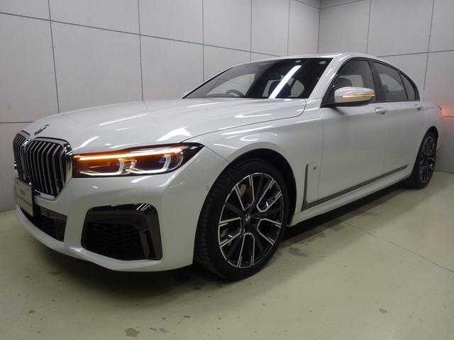 BMW 7シリーズ 750i xDrive Mスポーツ アラームシステム アクティブクルーズコントロール ヘッドアップディスプレイ フルセグTV ガラスサンルーフ 20インチアロイホイール 正規認定中古車