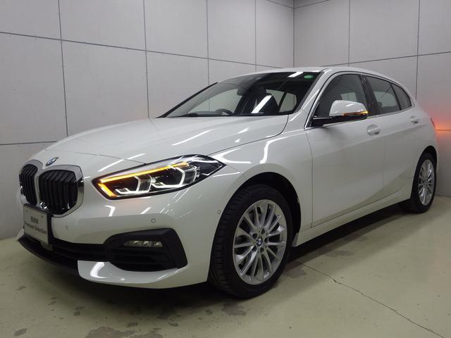 BMW 1シリーズ 118i プレイ ナビパッケージ コンフォートパッケージ ストレージパッケージ アクティブクルーズコントロール 17インチアロイホイール 正規認定中古車