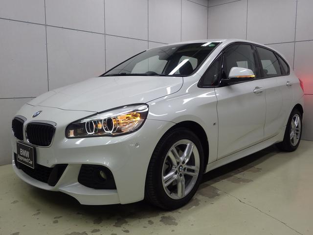 BMW 218dアクティブツアラー Mスポーツ アドバンスドアクティブセーフティパッケージ・ヘッドアップディスプレイ・アクティブクルーズコントロール・コンフォートパッケージ・コンフォートアクセス・電動リアゲート・パーキングサポートパッケージ・カメラ