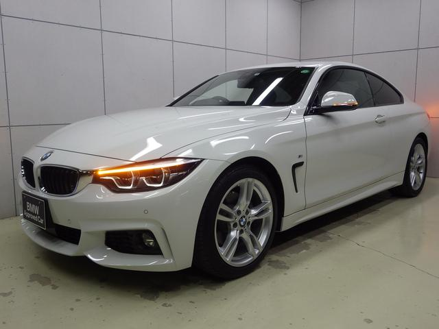 BMW 420iクーペ Mスポーツ アクティブクルーズコントロール・シートヒーター・HDDナビ・Bluetoothオーディオ・バックカメラ・ハンズフリー・ETC・18インチアロイホイール