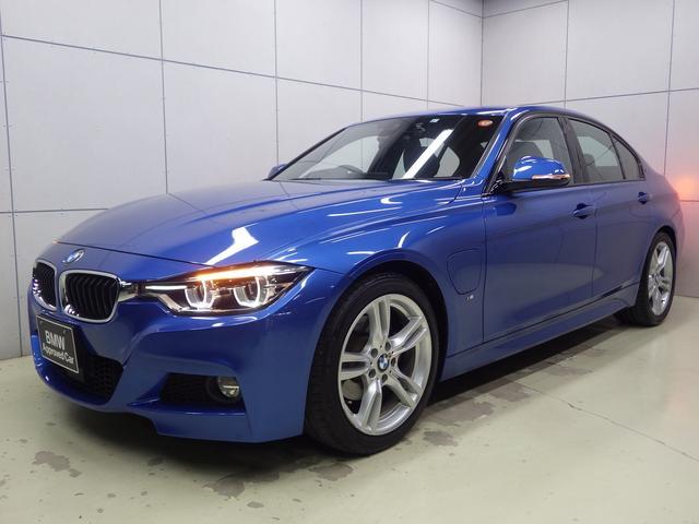 BMW 330e Mスポーツアイパフォーマンス ストレージパッケージ・アクティブクルーズコントロール・コンフォートアクセス・HDDナビ・Bluetoothオーディオ・バックカメラ・ハンズフリー・ETC・18インチアロイホイール