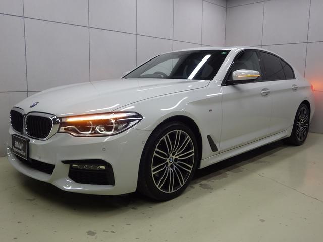 BMW 5シリーズ 523d Mスポーツ サンルーフ・19インチアロイホイール・純正ナビゲーションシステム・Bluetoothオーディオ・バックカメラ・ハンズフリー・ETC車載器