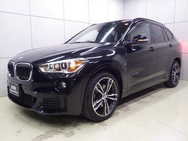 BMW X1 xDrive 25i Mスポーツ ブラックレザー・19インチアロイホイール・ACC・純正ナビゲーションシステム・Bluetoothオーディオ・バックカメラ・ハンズフリー・ETC車載器
