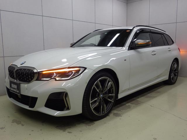 BMW M340i xDriveツーリング 電動トランク・19インチホイール・アクティブクルーズコントロール・ハンズオフアシスト・後退アシスト・ETC・LEDヘッドライト・純正ナビゲーションシステム・正規認定中古車
