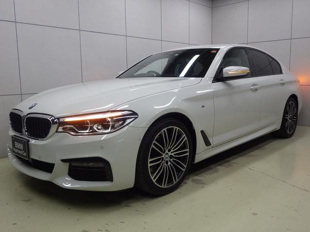 BMW 523d Mスポーツ アクティブクルーズコントロール・HDDナビ・ハンズフリー・Bluetoothオーディオ・バックカメラ・19インチアロイホイール・ETC・正規認定中古車