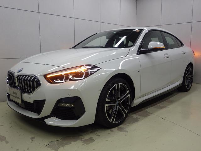 BMW 218dグランクーペ Mスポーツエディションジョイ+ アクティブクルーズコントロール・ナビパッケージ・Bluetoothオーディオ・バックカメラ・ハンズフリー・Appleカープレイ・18インチアロイホイール・ETC