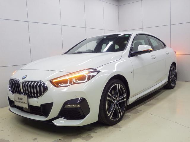 BMW 218dグランクーペ Mスポーツエディションジョイ+ ナビパッケージ・Bluetoothオーディオ・バックカメラ・ハンズフリー・Appleカープレイ・18インチアロイホイール・ETC・正規認定中古車