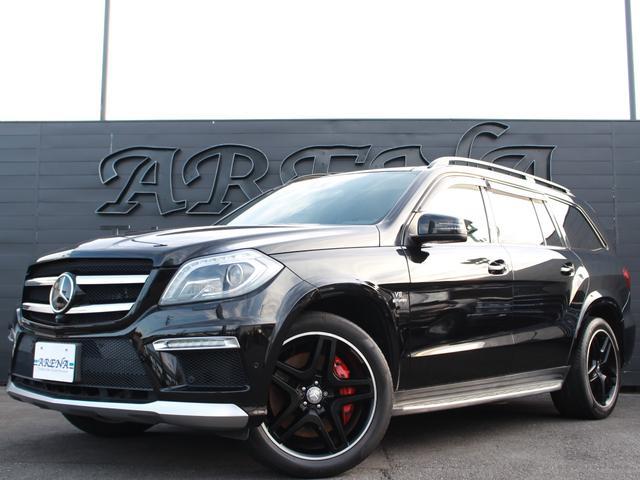 メルセデス・ベンツ GL63 AMG 純正HDDナビツインテレビ 黒革 SR