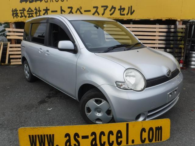 トヨタ シエンタ X 両側スライドドア キーレス 1年走行無制限...