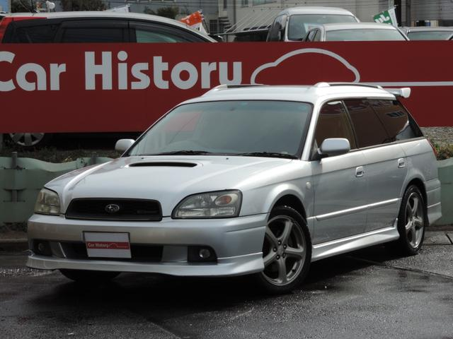 スバル GT-Bリミテッド 純正エアロ