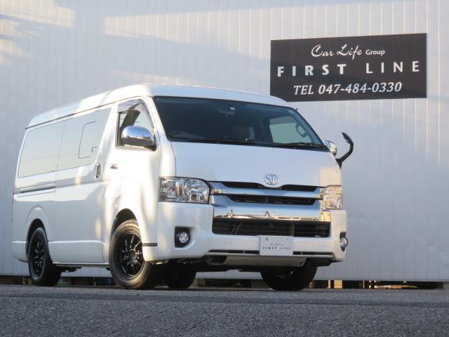 トヨタ スーパーGL ダークプライム バンベース ワゴン登録 10人乗り 3ナンバー登録 2.7G 2WD