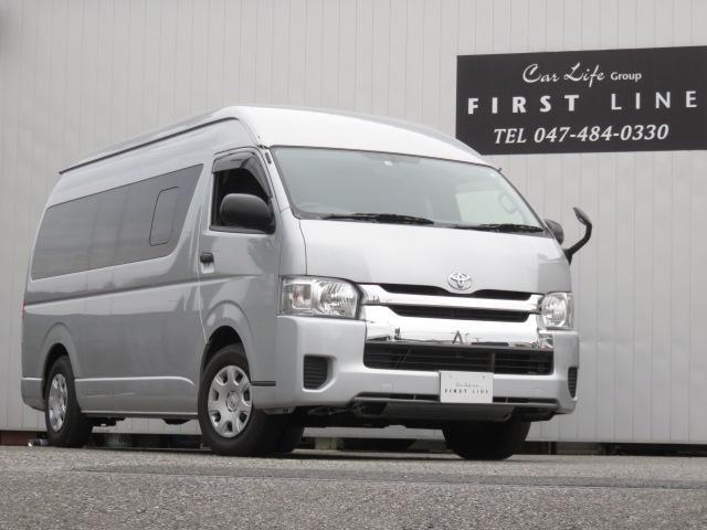 トヨタ DX GLパッケージ ディーゼル 2WD リフト付き ナビ ETC Bカメラ リアヒーター リアエアコン AC100Vアクセサリーコンセント