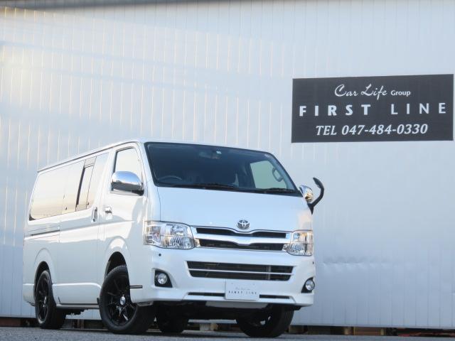トヨタ レジアスエースバン ロングスーパーGL 4WD ディーゼル 寒冷地仕様 8人乗り 5ナンバー登録 レカロシート コーナーセンサー AC100Vアクセサリーコンセント HIDヘッドライト