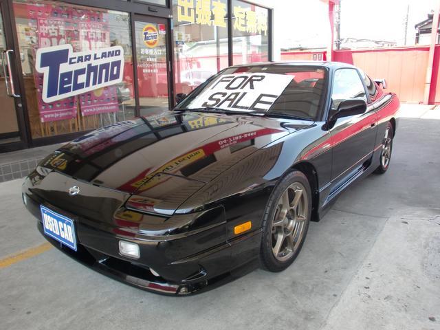 日産 タイプX 純正エアロ 車高調 後期型