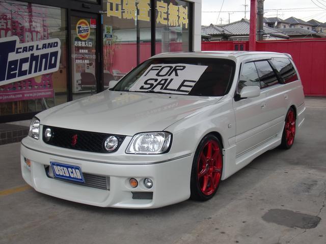 日産 ステージア 25t RS FOUR S タイベル交換済 フルエアロ 5速