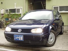 VW ゴルフCLi ワンオーナー 禁煙車 記録簿 取説