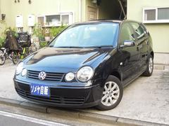 VW ポロSE 禁煙 ワンオーナー バックカメラ 外ナビ 革巻ハンドル