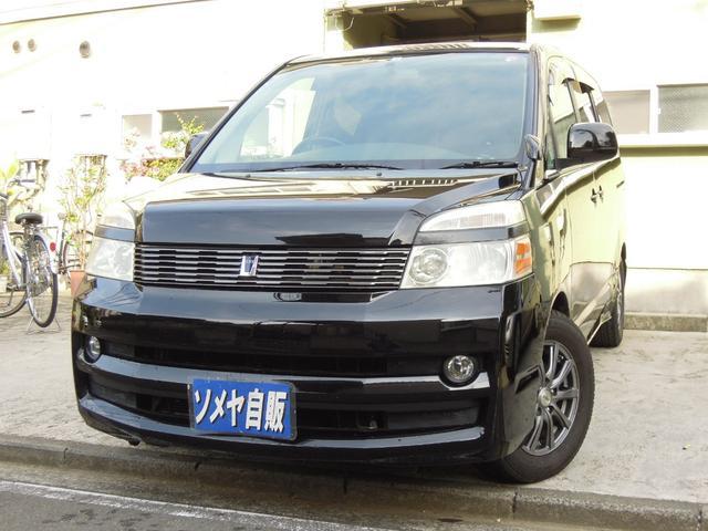 トヨタ トランス-X 社外ナビ 後席フリップダウンモニター 外アルミ