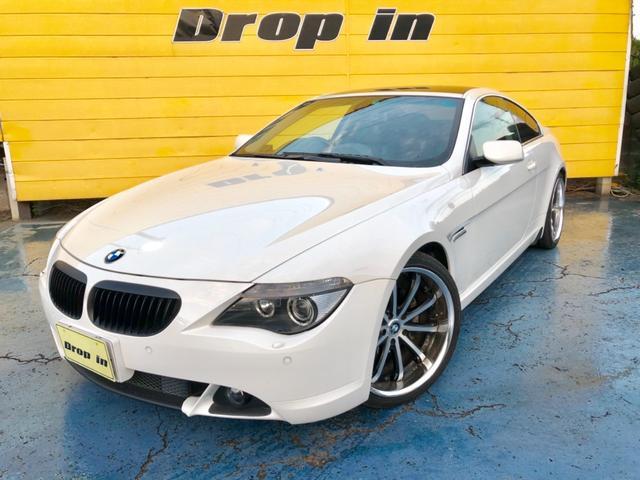 BMW 6シリーズ 630i 黒革 ナビ 社外20インチ 足回り...