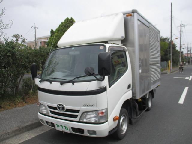 トヨタ フルジャストロー アルミバン 積載量1350K