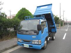 エルフトラック強化フルフラットローダンプ 2トン