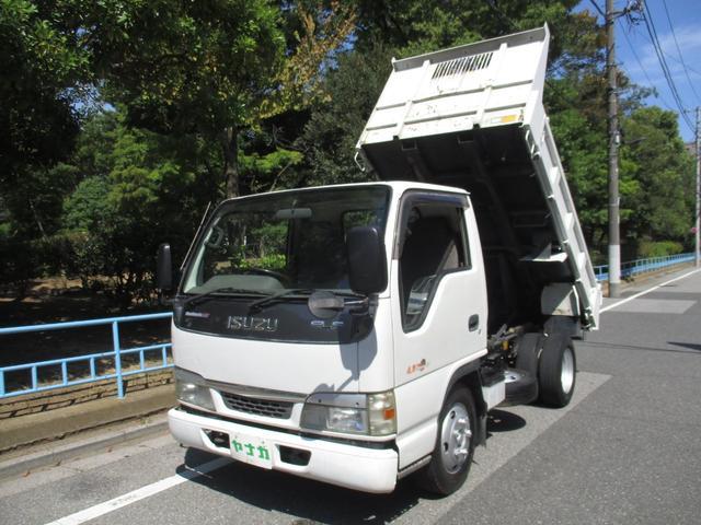 いすゞ 4.8デイーゼル フラトロー強化 ダンプ 3トン