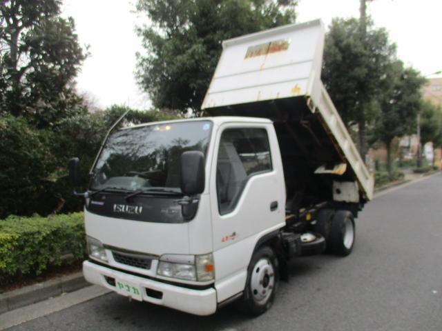 いすゞ ダンプ4.8デイーゼル強化2トン