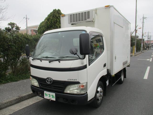 トヨタ フルジャストロー4.0デイーゼルターボ冷凍冷蔵車-20℃