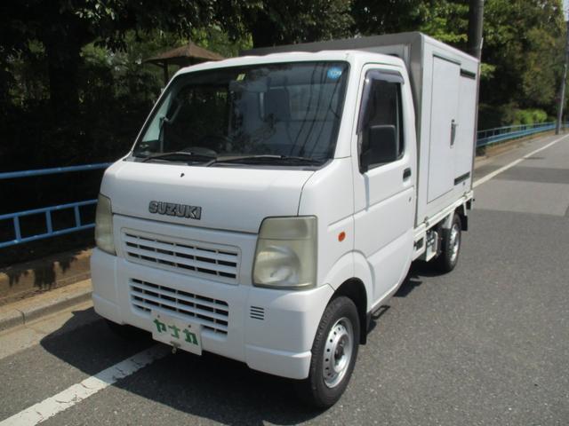 スズキ KCエアコン・パワステ 冷凍冷蔵車-5℃ オートマ